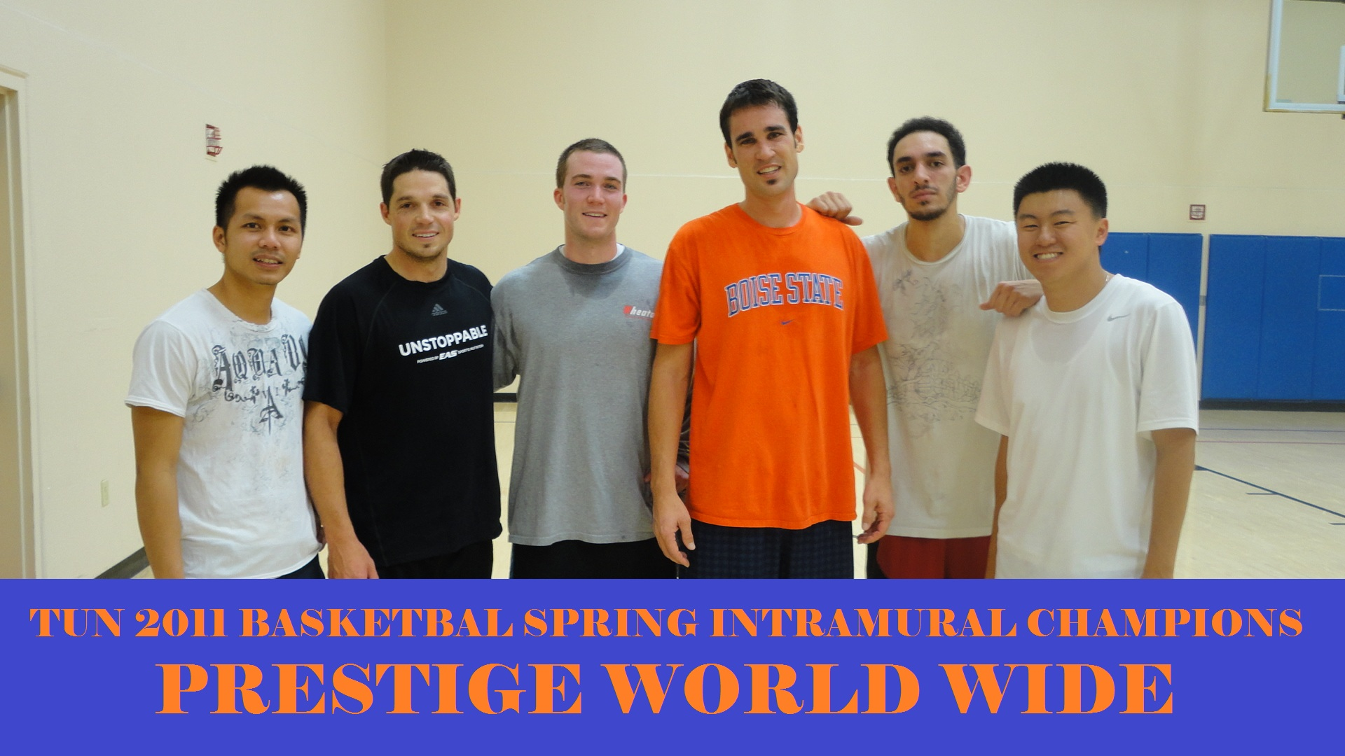Spring 2011 BBall Champs