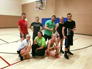 fall 2015 intramural vball champions t unit